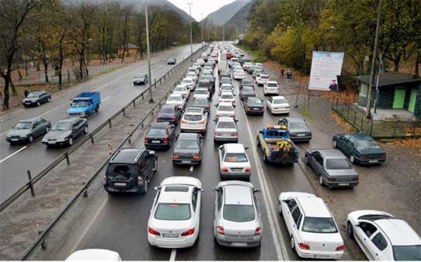 افزایش 3، 8 درصدی تردد در محورهای برون شهری