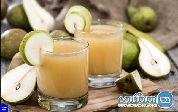 شربت گلابی، مفید برای افراد کم خون