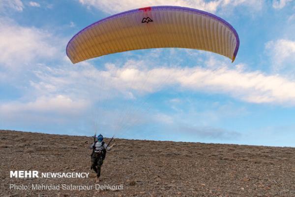 6 سایت ورزش هوایی در اردبیل راه اندازی می گردد