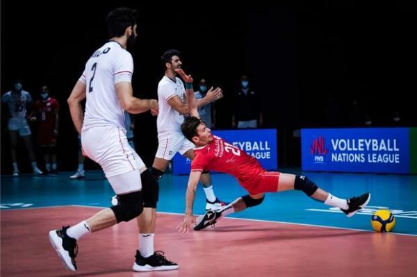 فزونی نامحسوس تیم ملی والیبال استرالیا مقابل ایران