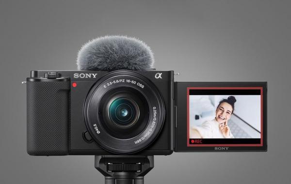 سونی ZV، E10 رونمایی شد؛ دوربین 4K مخصوص ولاگرها