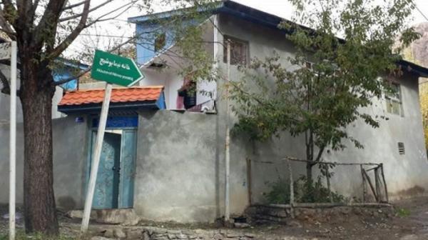 خسارت سیلاب به خانه موزه پدر شعر نو