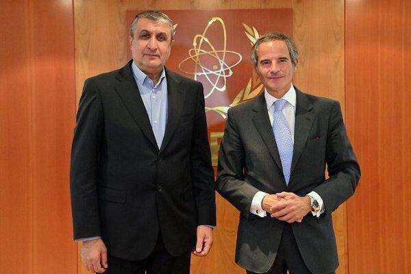 مدیرکل آژانس از ملاقات با رئیس سازمان انرژی اتمی ایران استقبال کرد