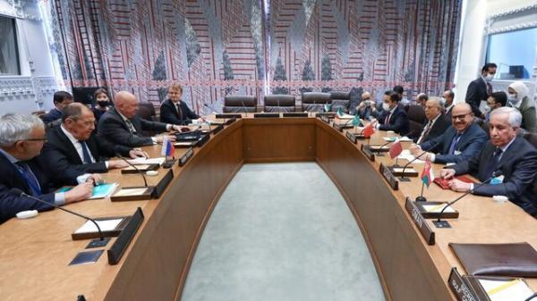 تور روسیه: آنالیز طرح روسیه برای امنیت خلیج فارس در ملاقات لاوروف با هیات شورای همکاری